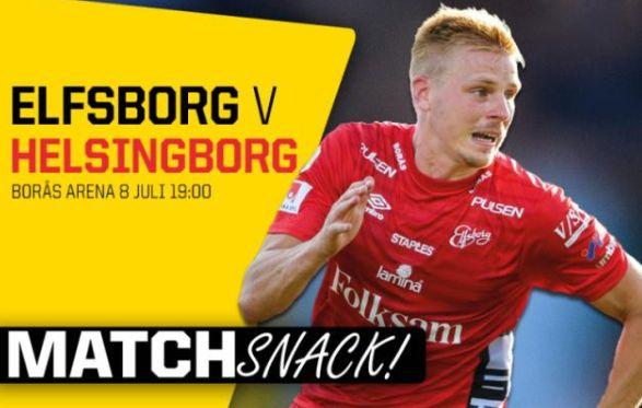 瑞典超   埃尔夫斯堡VS 赫尔辛堡
