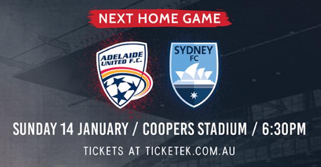 阿德莱德联VS悉尼FC