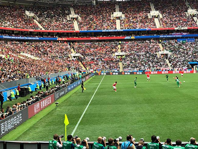 中国品牌亮相世界杯,处处夺目抢镜