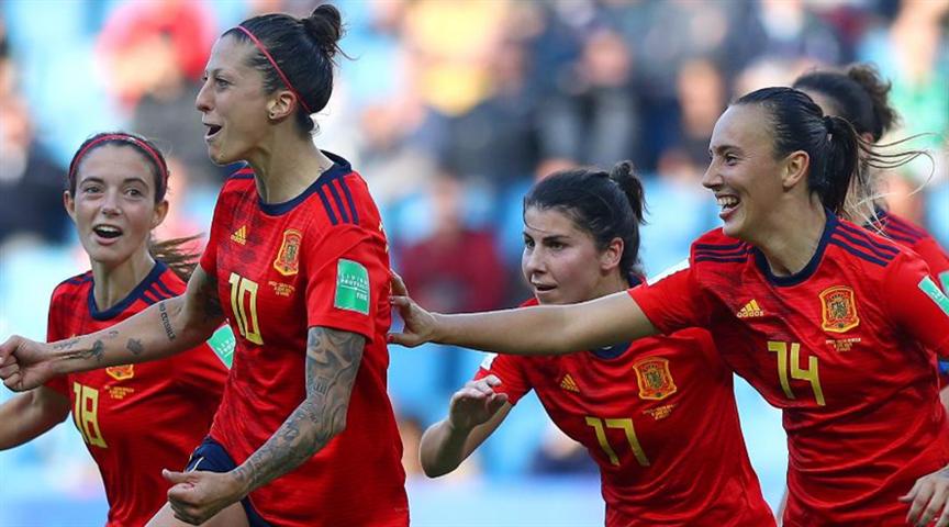 女足世界杯:西班牙女足有望在德国女足身上拿分