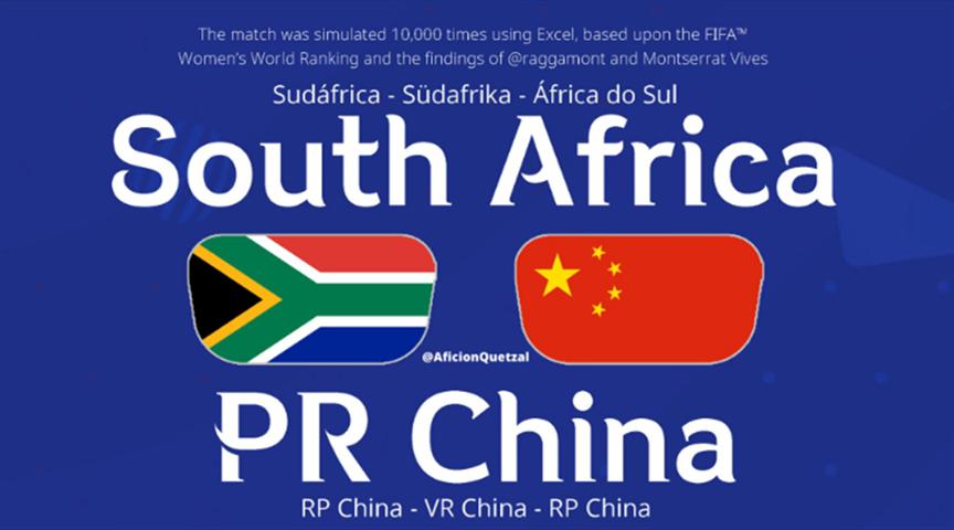 女足世界杯:要想出线,中国女足续拿下南非女足