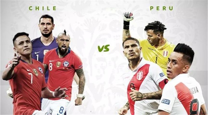 美洲杯:秘鲁实力有限,智利三进决赛成定局?