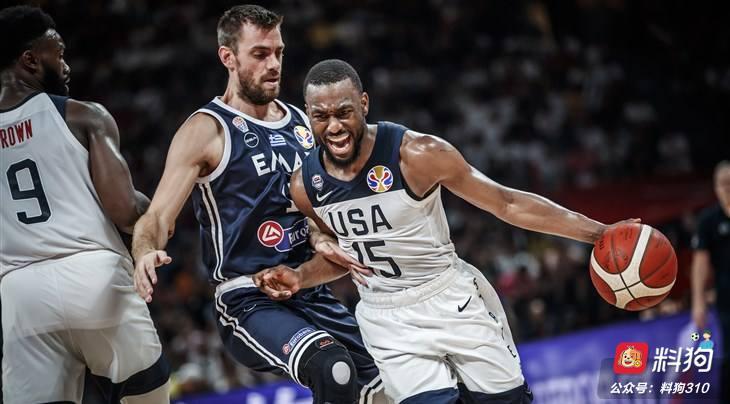 男篮世界杯:法国 VS 美国