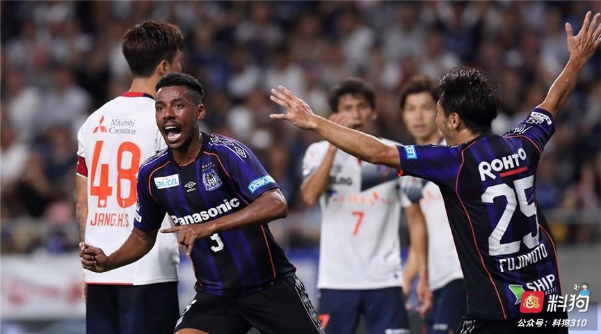 日职联:札幌联赛无欲无求,大阪钢巴为保级而战